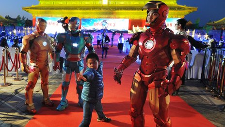 Iron Man 3 gala in Beijing
