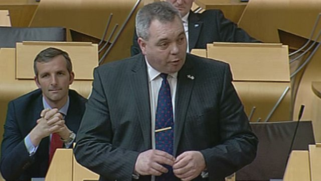Conservative MSP Alex Johnstone