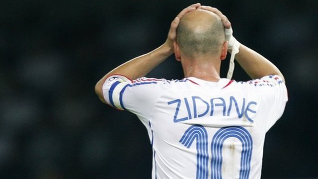 Zinedine Zidane World Cup 2006