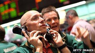 Nymex traders (file photo)