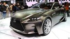 Lexus LF-CC car at the Shanghai auto show