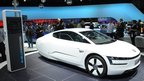 VW electric concept car at the Shanghai auto show in Shanghai