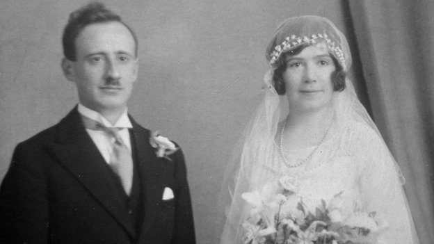 Alfonso Conti on his wedding day