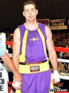 Tamerlan Tsarnaev in a boxing tournament