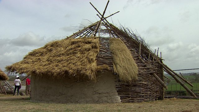 Neolithic hut