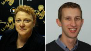 Prof Sue Black and Dr Craig Cunningham