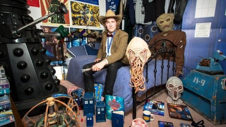 Doctor Who Fan Rents Out Memorabilia Bedroom For Charity