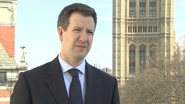 Labour's shadow Treasury minister Chris Leslie