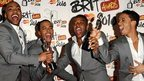 JLS at the Brits