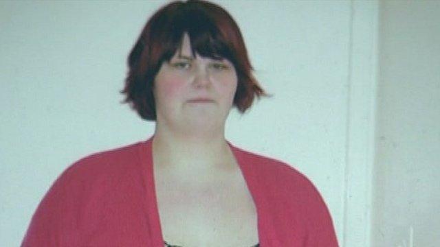 Emma Burton before her diet