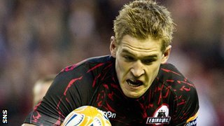 Edinburgh winger Sep Visser