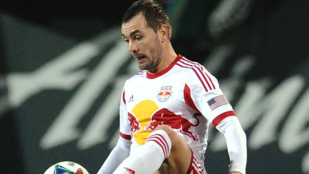 Jonny Steele in action for the New York Red Bulls
