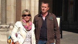 Caroline and Mark Longley