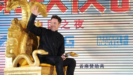 Downey Jr at the Beijing gala