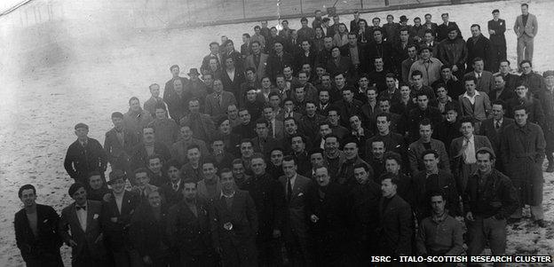 Italian internment camp in the Isle of Man