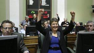 State Senator Donna Nesselbush
