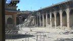 VIDEO: Ancient Aleppo minaret destroyed