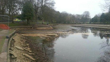 Lake at Tunstall Park