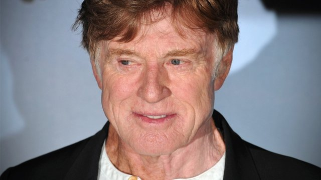 US actor Robert Redford