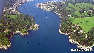 River Dart estuary (Pic: Barry Morris)