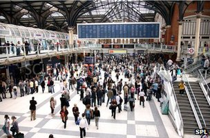 Liverpool Street station, London