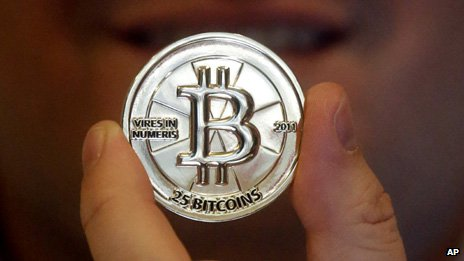 A home-made bitcoin token