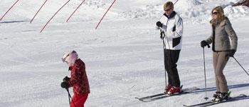 Willem-Alexander skiing