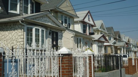 Houses in Jamaica, Queens