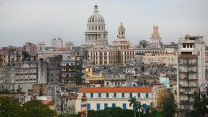 Skyline of Havana, Cuba file picture 2009