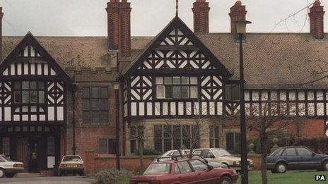 The former Bryn Estyn care home in 1992