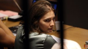 Amanda Knox at Perugia's Court of Appeal in 2011