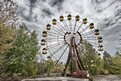 The Ferris wheel in central Pripyat