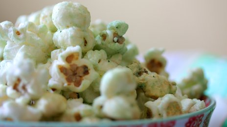 Portlebay Wasabi and sweet ginger popcorn