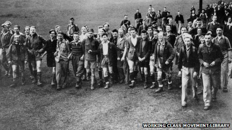 Battle of Kinder Scout Hill, April 24th 1932