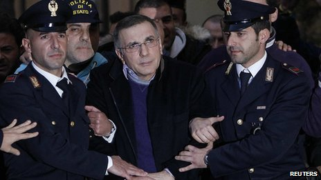 Michele Zagaria's arrest in 2011