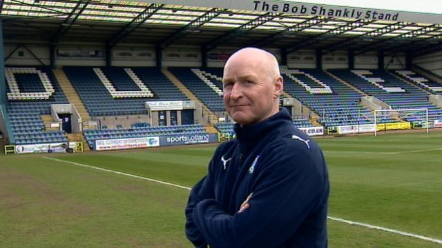Dundee manager John Brown