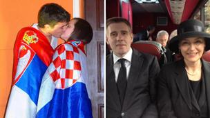 Serbian boy fuck croatian milf slut - 2 part 8