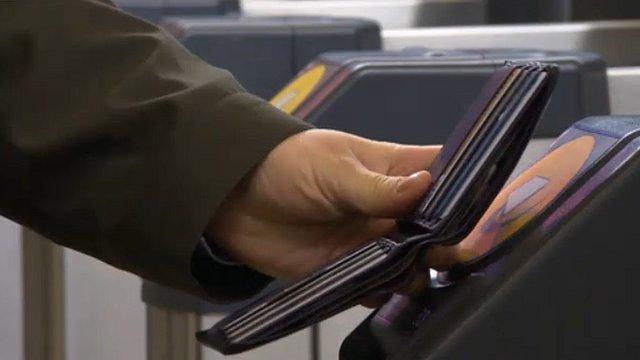 Oyster card reader