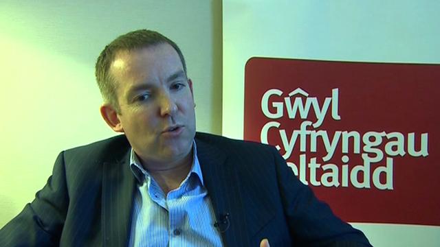 BBC Cymru Wales director, Rhodri Talfan Davies