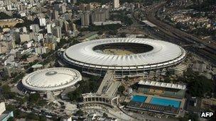 Maracana stadium, 11 April 2013