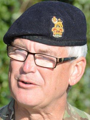Commanding Officer Alan Black