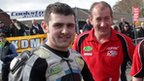 Michael Dunlop was a double winner at Cookstown