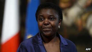Newly appointed Italian Minister for Integration Cecile Kyenge