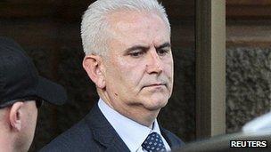 Zivko Budimir arrested in Sarajevo. 26 April 2013