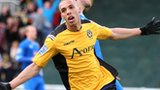 Newport goalscorer Christian Jolley