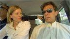 Orla Guerin and Imran Khan
