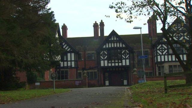 The former Bryn Estyn care home