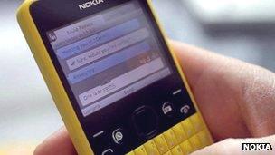 Nokia Asha 210 phone