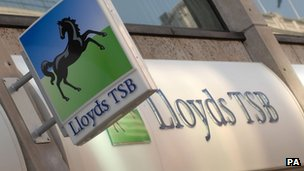 Lloyds shares hit break-even point
