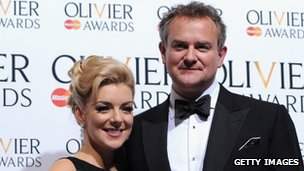 Sheridan Smith and Hugh Bonneville